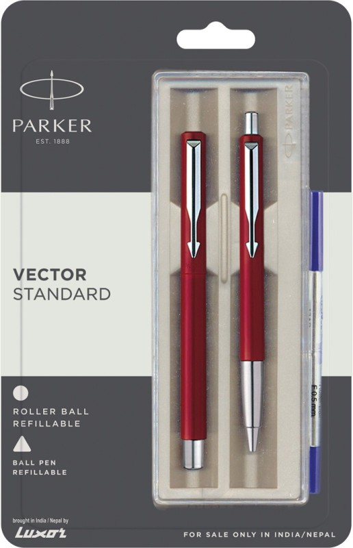 Parker Vector Standard CT (RB BP) Pen Gift Set