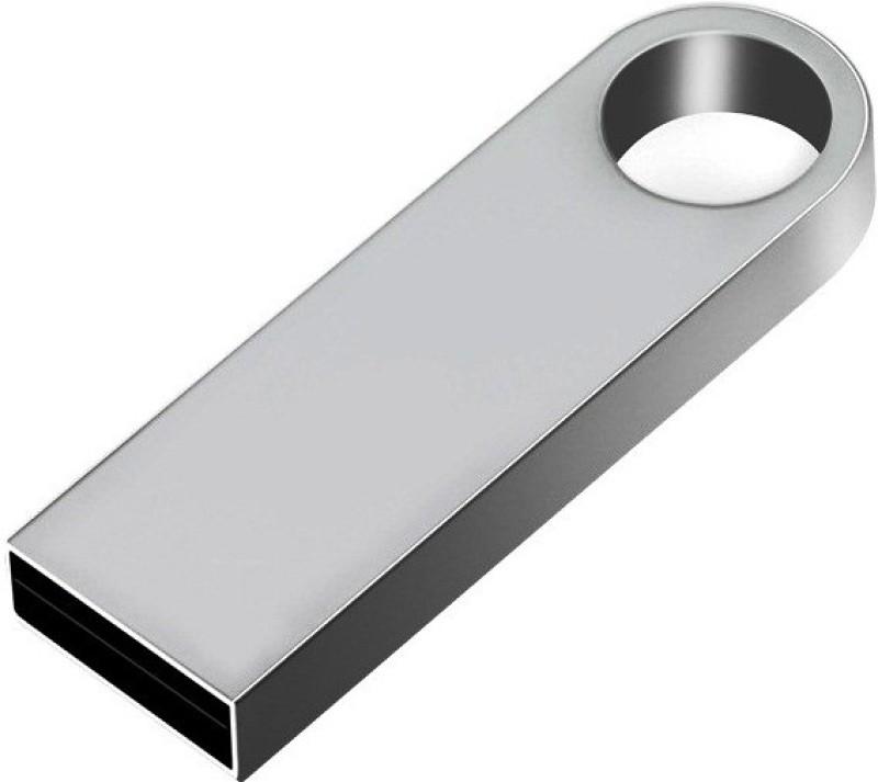 Pankreeti Metal 64 GB Pen Drive(Silver)