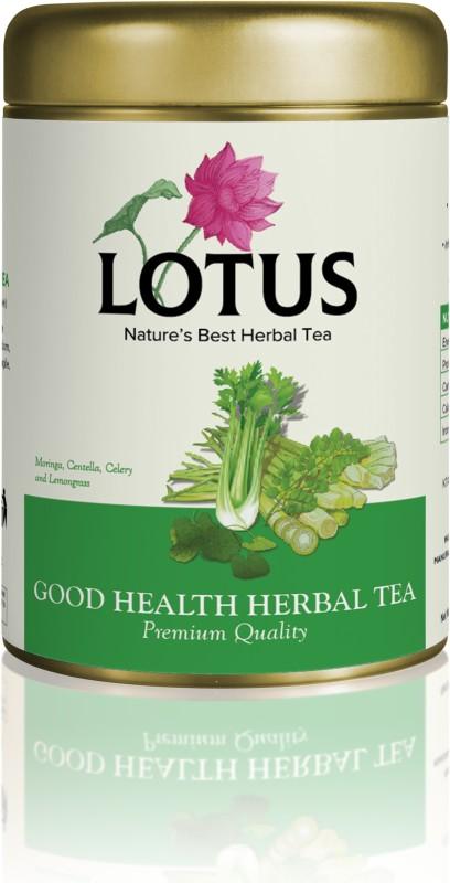 Lotus Good health Herbal Tea (50gm) Assorted Herbal Infusion Tin(80 g)