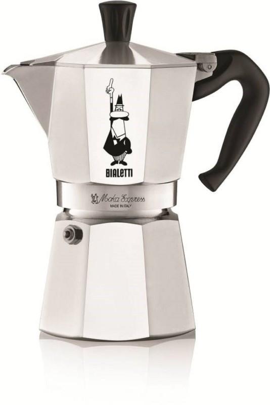 Bialetti Moka Express Stove Top Espresso 6 Cups Coffee Maker(Aluminium)