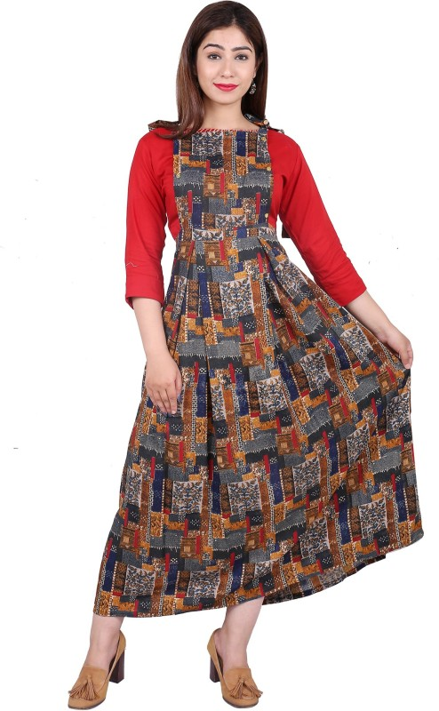 Styleee Women Ethnic Top and Skirt Set