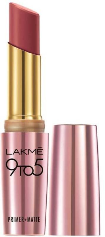 Lakme 9 to 5 Primer Plus Matte Lip Color(Rosy Sunday, 3.6 g)
