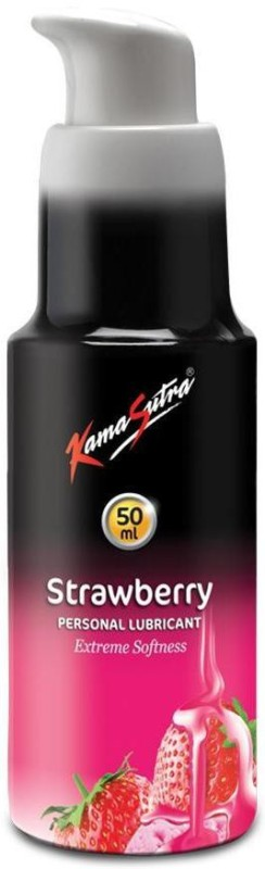KamaSutra Strawberry Personal Lubricant 50ml (Pack of 2) Lubricant(100 ml)