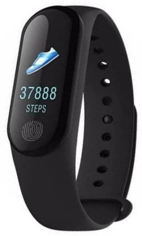 Mezire ®M3 Smart Band With Activity Sensor Z36(Black Strap, Size : Free Size)