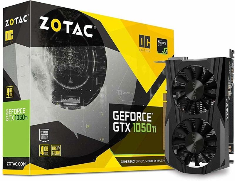 ZOTAC NVIDIA pn:9288-1n454-300z8 4 GB GDDR5 Graphics Card