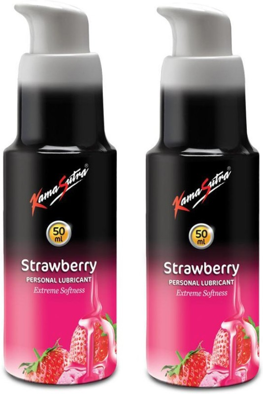 KamaSutra Personal Lubricant-Strawberry 50ml*2 Lubricant(100 g)