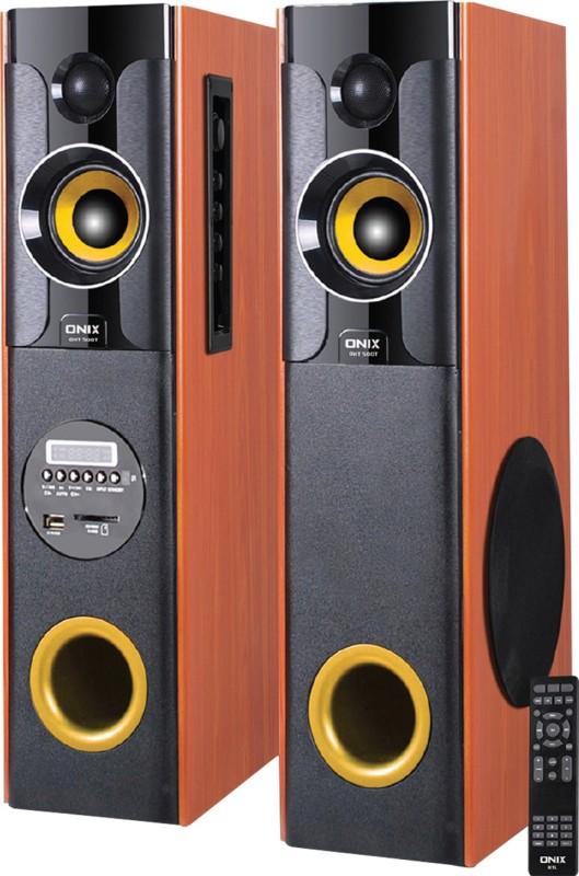 Onix OHT 500T 50 W Bluetooth Tower Speaker(Black, 2.0 Channel)