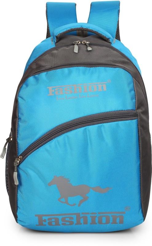Hot Shot Polyester 30 Liters Waterproof 30 L Backpack(Blue, Grey)