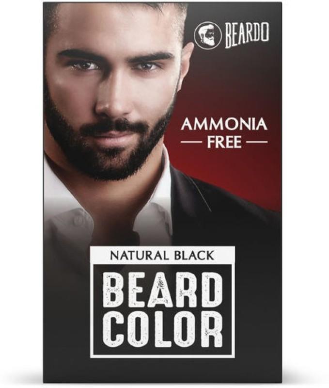 Beardo Beard Color for Men Hair Color(Natural Black)