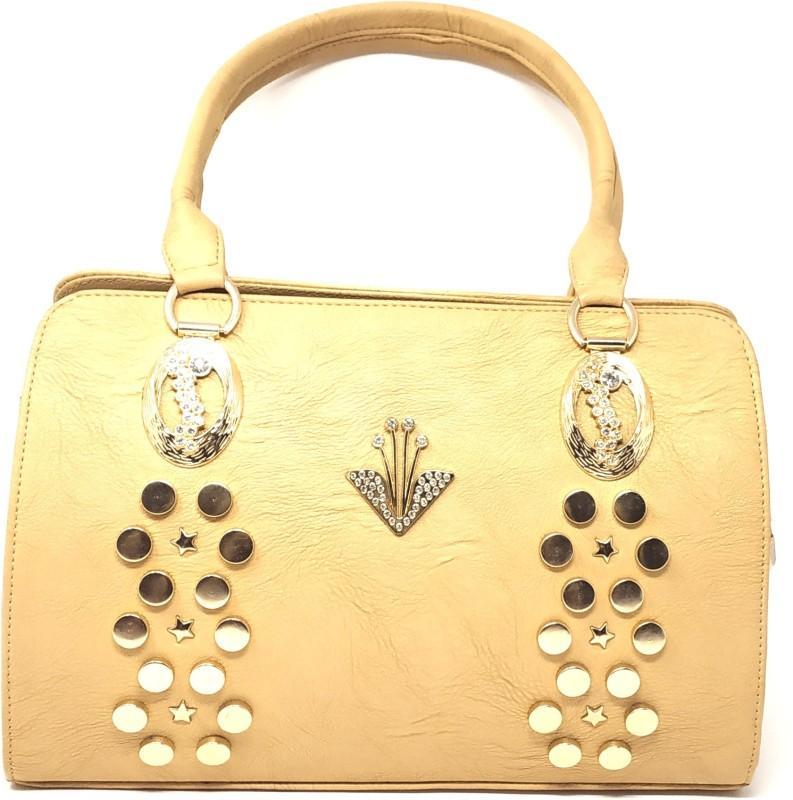 GC Guru Creation Women Beige Shoulder Bag