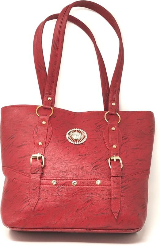 GC Guru Creation Women Red Shoulder Bag