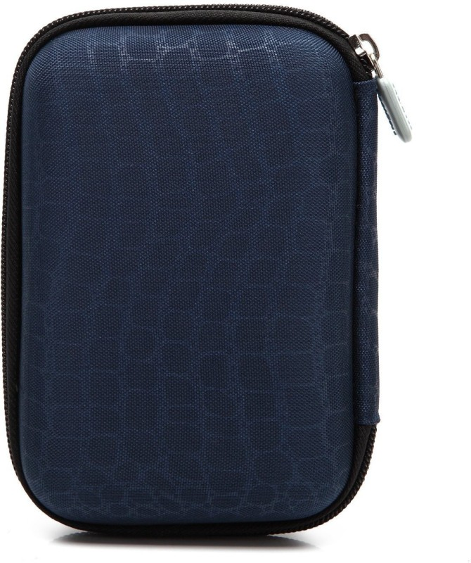 Saco External Hard disk Bag Case 2.5 inch 2.5 inch Compatible enclosure for Toshiba, Western Digital, Seagate, Dell, Samsung, Sony, Hp, Hitachi, WD, Transcend(For All 2.5 Inch External Hard drives, Blue)