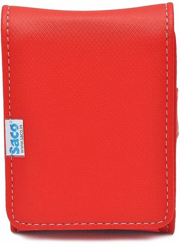 Saco External Hard disk Bag Wallet 2.5 inch 2.5 inch Compatible enclosure for Toshiba, Western Digital, Seagate, Dell, Samsung, Sony, Hp, Hitachi, WD, Transcend(For All 2.5 Inch External Hard drives, Red)