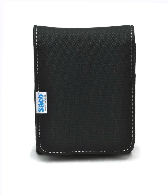 Saco External Hard disk Bag Wallet 2.5 inch 2.5 inch Compatible enclosure for Toshiba, Western Digital, Seagate, Dell, Samsung, Sony, Hp, Hitachi, WD, Transcend(For All 2.5 Inch External Hard drives, Black)