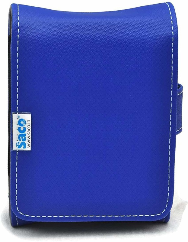 Saco External Hard disk Bag Wallet 2.5 inch 2.5 inch Compatible enclosure for Toshiba, Western Digital, Seagate, Dell, Samsung, Sony, Hp, Hitachi, WD, Transcend(For All 2.5 Inch External Hard drives, Blue)