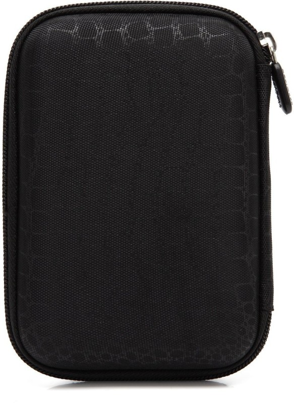 Saco External Hard disk Bag Case 2.5 inch 2.5 inch Compatible enclosure for Toshiba, Western Digital, Seagate, Dell, Samsung, Sony, Hp, Hitachi, WD, Transcend(For All 2.5 Inch External Hard drives, Black)