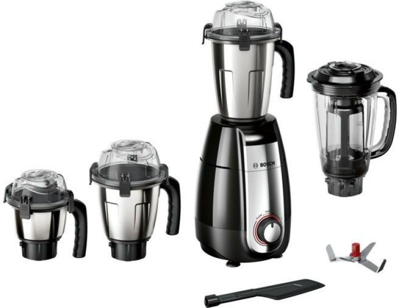 Bosch Truemix pro MGM8642BIN 750 Juicer Mixer Grinder(Black, 4 Jars)
