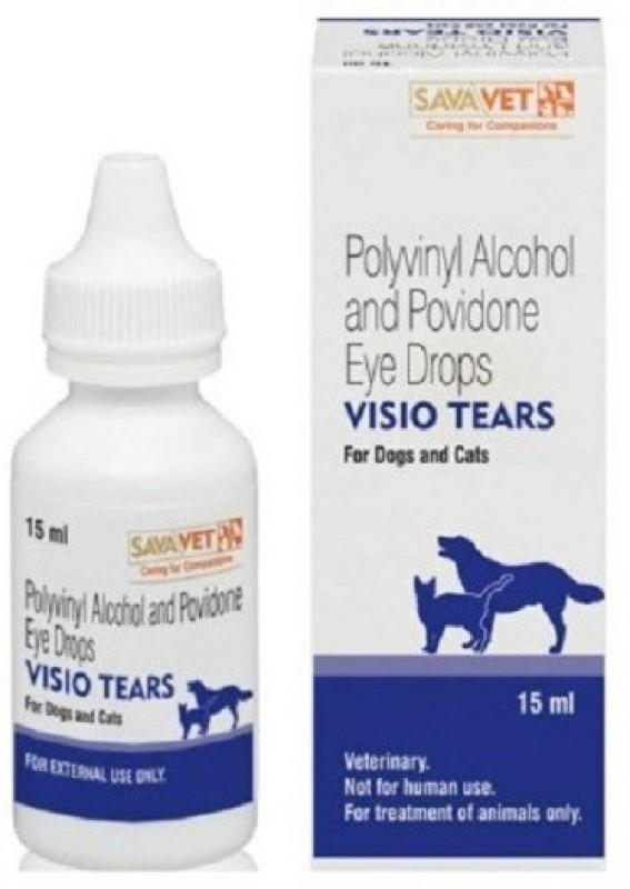 Sava Vet TEARS Eye Drop Pet Health Supplements(15 ml)