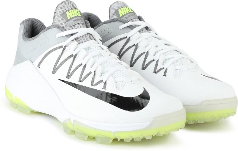 Nike DOMAIN 2 NS Cricket Shoes For Men(White, Green)