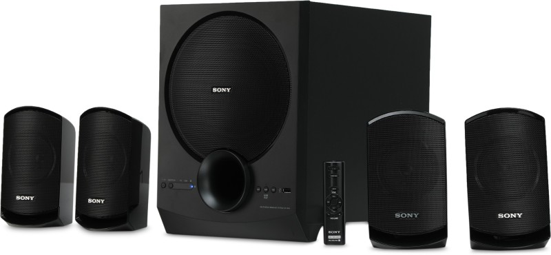 Sony SA-D40 80 W Bluetooth Home Theatre(Black, 4.1 Channel)
