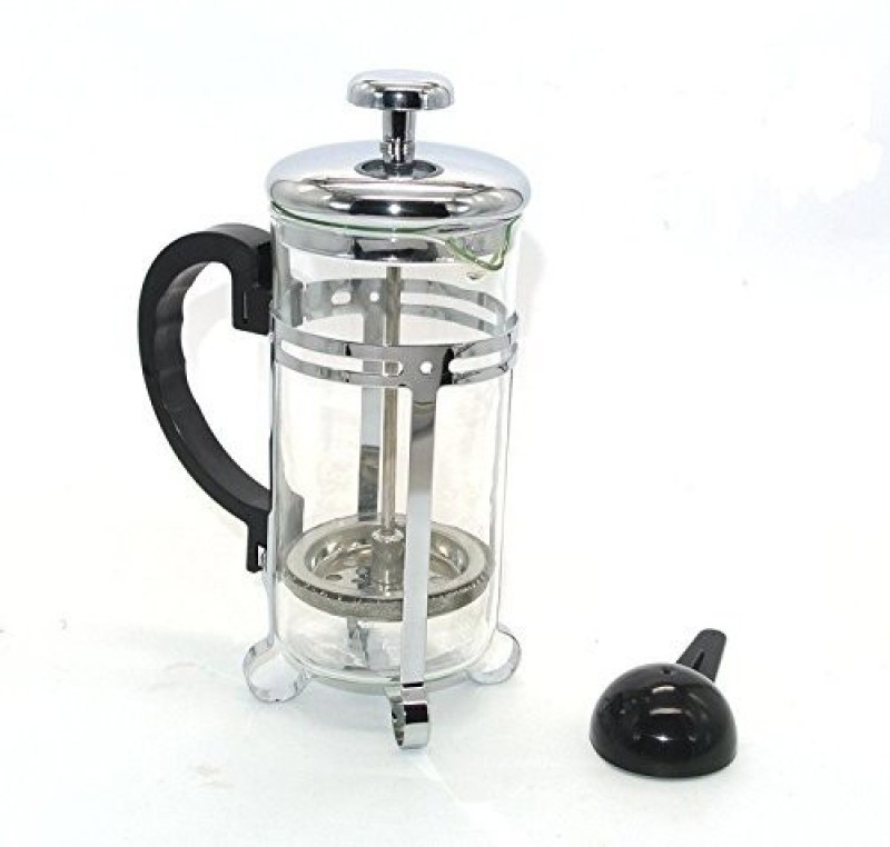 Aggarwal Crockery & Scientific Stores coffee plunger 350ml new 2 Cups Coffee Maker(Transparent)