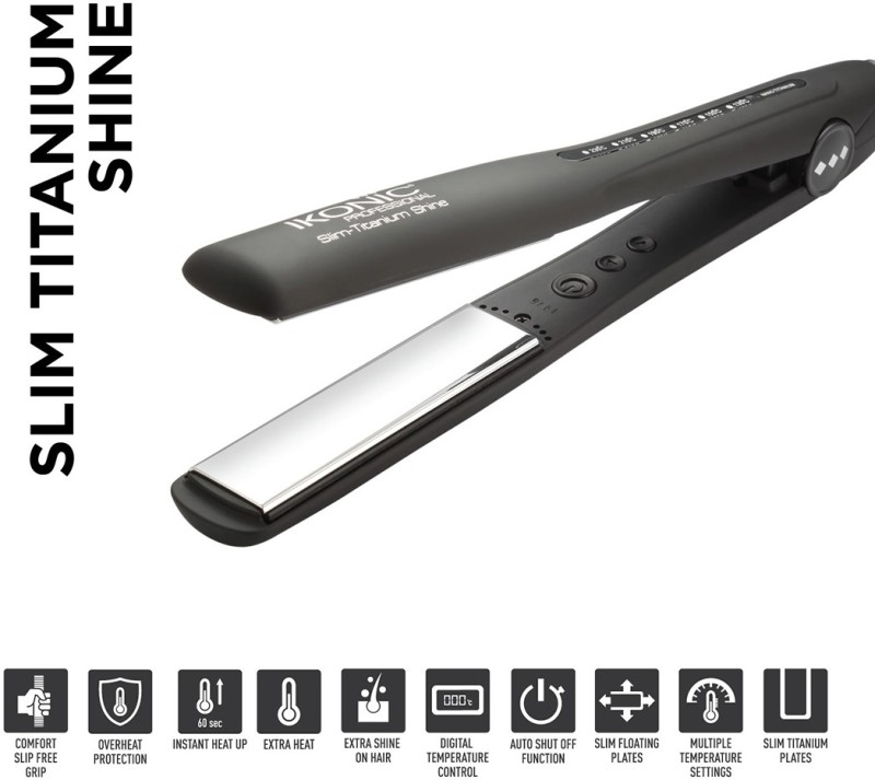 Ikonic Sts Hair Straightener(Black)