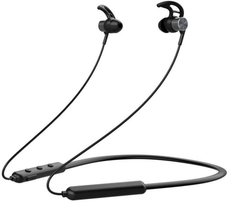 Pebble Spirit Loop- Wireless Neckband Black Bluetooth Headset with Mic(Black, In the Ear)
