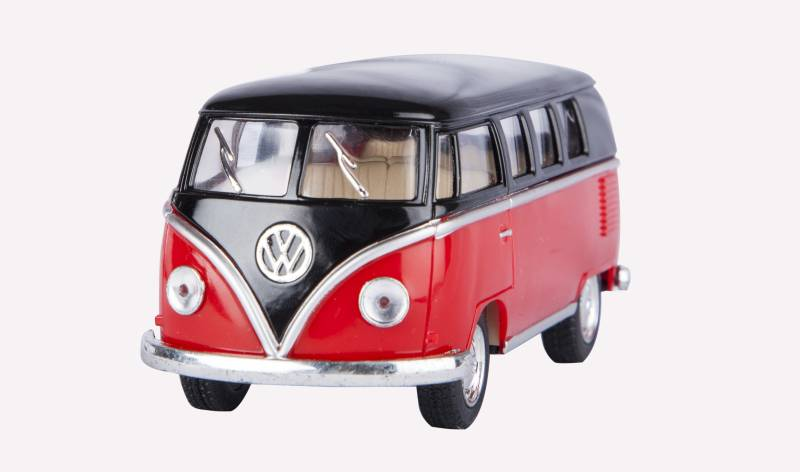 Miss & Chief Kinsmart Licensed Volkswagen Classical Bus Die Cast...