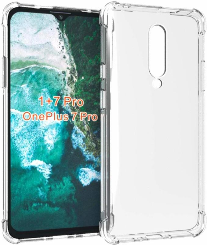 Flipkart SmartBuy Back Cover for OnePlus 7 Pro(Transparent, Grip Case)