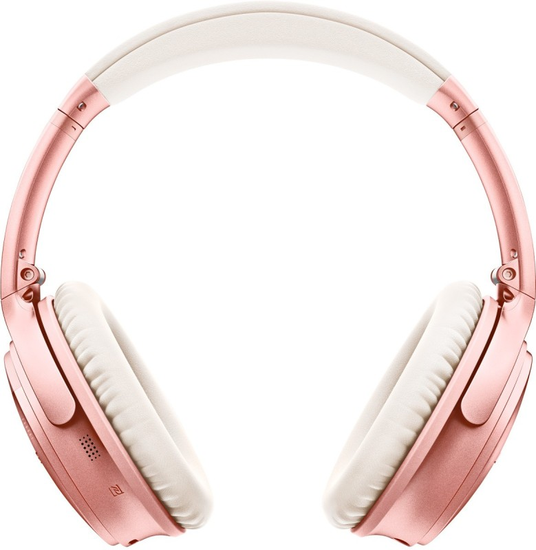 Bose Quietcomfort35II Bluetooth Headset with Mic(Rose Gold, Over the Ear)