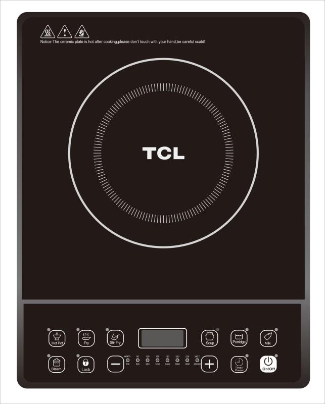 TCL TC C21E52A Induction Cooktop(Black, Push Button)