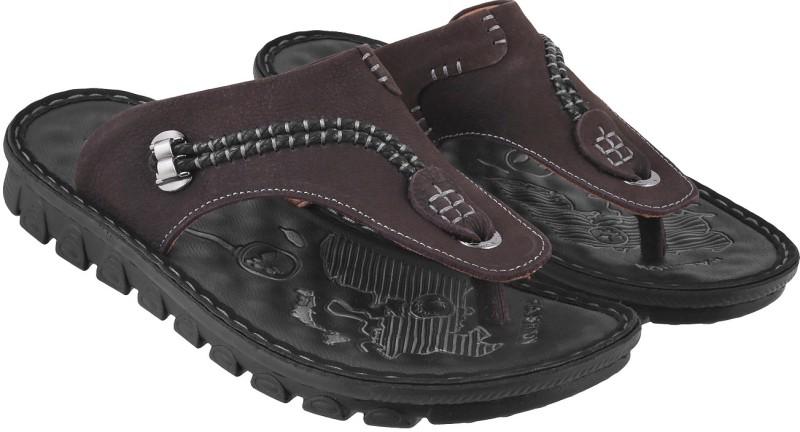 J.Fontini Men Black Sandals