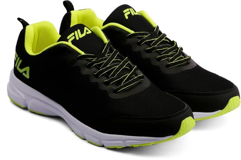 Fila SPEEDO Running Shoes For Men(Black)