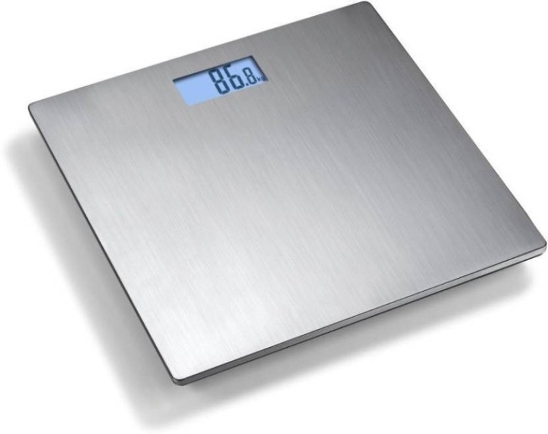 Bodytech steel Platform Body Fitness Weighing Scale(Silver)