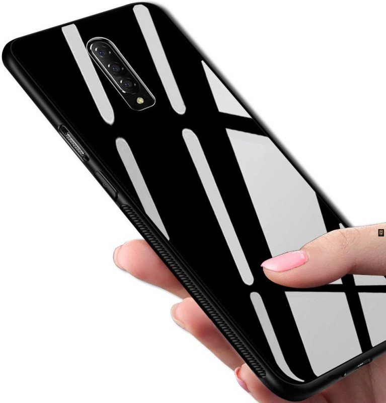 MagicHub Back Cover for OnePlus 7 Pro(Glass Black)