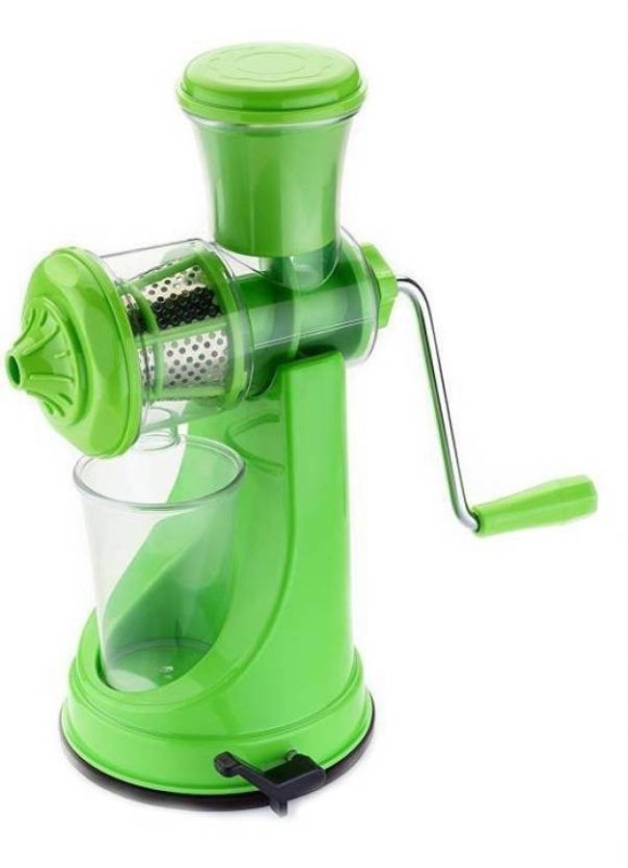 3D METRO SUPER STORE Stainless Steel Hand Juicer(Green Pack of 1)