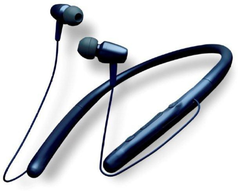 Sound One X80 Bluetooth Headset with Mic(Blue, In the Ear)