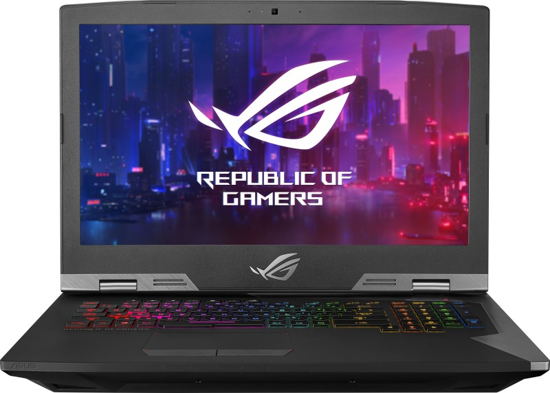 Asus ROG Core i9 9th Gen - (32 GB/1 TB HDD/1 TB SSD/Windows 10 Home/8 GB Graphics) G703GXR-EV078R Gaming Laptop(17.3 inch, Aluminum Titanium, 4.7 kg)