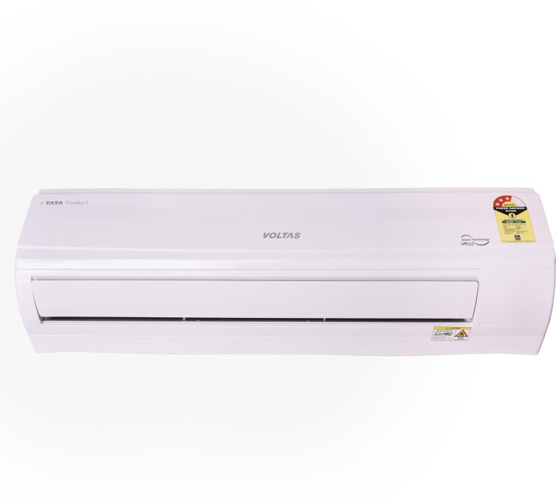 Voltas 1.5 Ton 3 Star Split AC - White(183 DZZ (R-32), Copper Condenser)