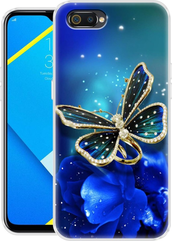Flipkart SmartBuy Back Cover for Realme C2(Multicolor, Shock Proof, Silicon)