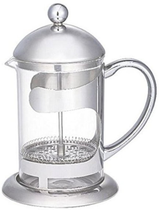 Aggarwal Crockery & Scientific Stores Coffee Plunger 600 ml 4 Cups Coffee Maker(Transparent)