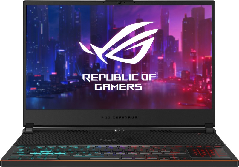 Asus ROG Zephyrus S Core i7 9th Gen - (24 GB/1 TB SSD/Windows 10 Home/8 GB Graphics) GX531GWR-ES024T Gaming Laptop(15.6 inch, Black Metal, 2.1 kg)