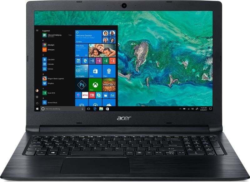 Acer Aspire 3 Core i3 8th Gen - (4 GB + 16 GB Optane/1 TB HDD/Windows 10 Home) A315-53 Laptop(15.6 inch, Obsidian Black, 2.1 kg)