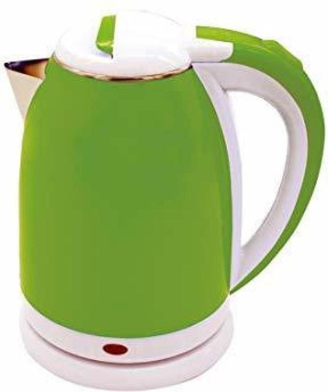 Maison & Cuisine Krystal Electric Kettle 1.8 LTR 1500 W (Green) Electric Kettle(1.8 L, Green)