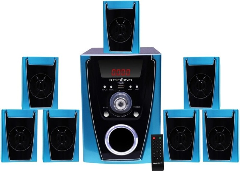 KRISONS Polo 7.1 Home Cinema(MP3)