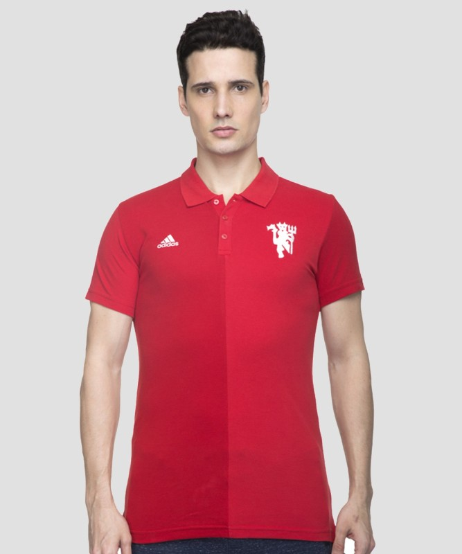 ADIDAS Men Solid Sports Shirt