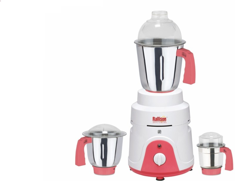 Rallison Appliances Jet RS_22 745 Mixer Grinder(White, 3 Jars)