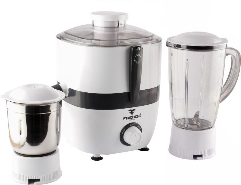 Frendz Forever Nexon JMG-089 550 Juicer Mixer Grinder(White, 2 Jars)