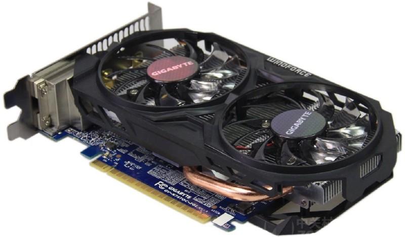 Gigabyte NVIDIA gtx750 2 GB GDDR5 Graphics Card(Blue, Black)
