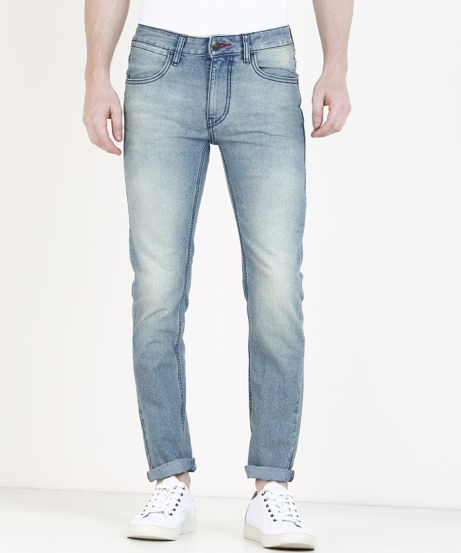 Newport Slim Men Blue Jeans